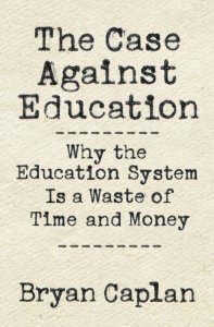 the case against education cover