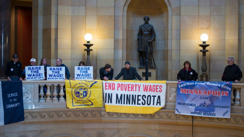 minimum-wage advocates