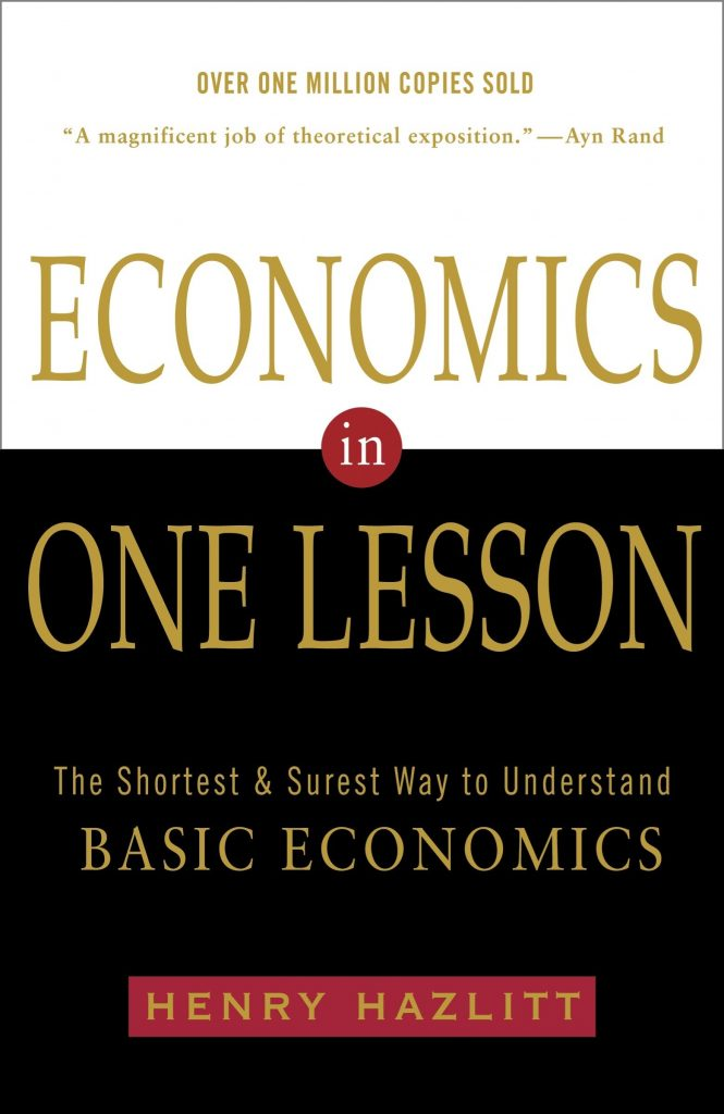 'Economics in One Lesson' by Henry Hazlitt
